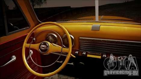 Chevrolet 3100 Truck 1951 для GTA San Andreas вид сзади