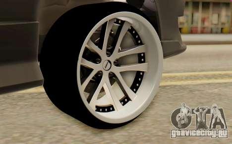 Nissan Silvia S15 Stance для GTA San Andreas вид сзади слева