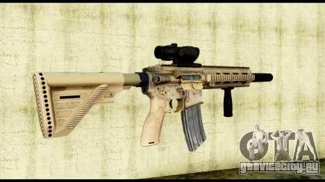 HK416 SOPMOD для GTA San Andreas второй скриншот