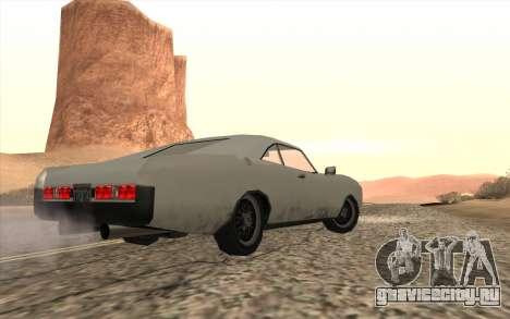Imponte Dukes SA Style для GTA San Andreas вид слева