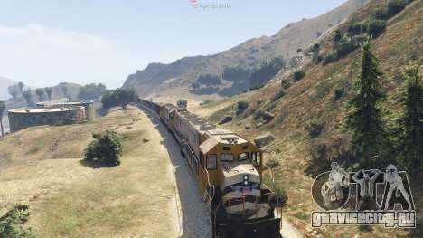 Improved freight train 3.8 для GTA 5 шестой скриншот
