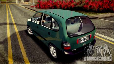 Renault Megane Scenic для GTA San Andreas вид сзади слева