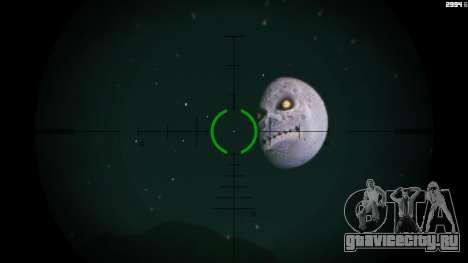 Majoras Mask Moon для GTA 5