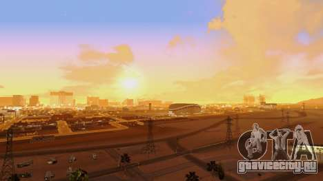 Skybox Real Stars and Clouds v2 для GTA San Andreas второй скриншот
