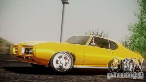 Pontiac GTO 1968 для GTA San Andreas