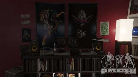 Star Wars Posters for Franklins House 0.5 для GTA 5 восьмой скриншот