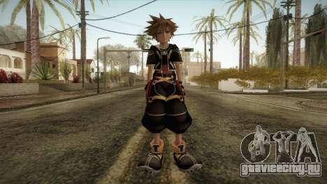 Kingdom Hearts 2 - Sora для GTA San Andreas второй скриншот