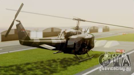Bell UH-1 Paraguay для GTA San Andreas вид слева