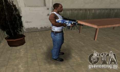 Mount Sniper Rifle для GTA San Andreas третий скриншот