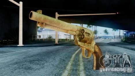 Red Dead Redemption Revolver Cattleman Sergio для GTA San Andreas
