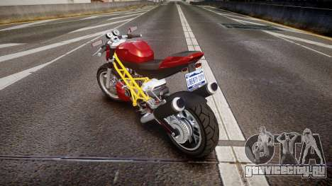 GTA V Principe Lectro для GTA 4 вид сзади слева