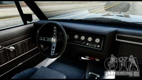 GTA 5 Vapid Chino Tuning v2 для GTA San Andreas вид справа