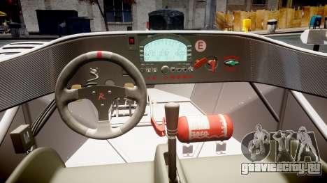 Radical SR8 RX 2011 [11] для GTA 4 вид изнутри