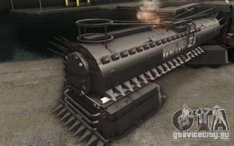 Прицеп для грузовика Mad Max для GTA San Andreas вид сзади слева