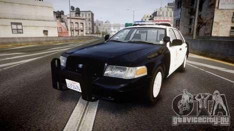 Ford Crown Victoria 2011 LAPD [ELS] rims1 для GTA 4