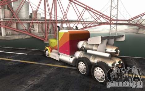 ShockWave Jet Truck для GTA San Andreas вид слева