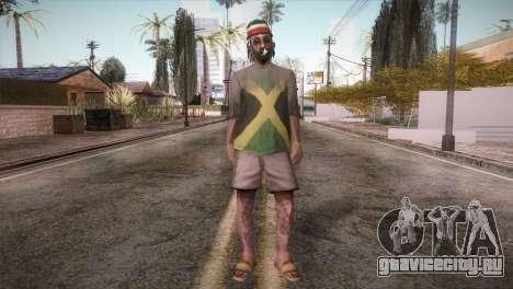 Rasta Grandpa для GTA San Andreas второй скриншот