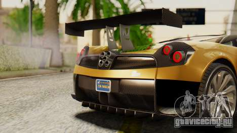 Pegassi Osyra Extra 2 для GTA San Andreas вид изнутри