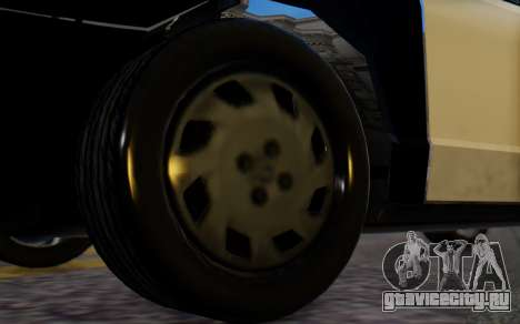 Ford Crown Victoria LSPD для GTA San Andreas вид сзади слева