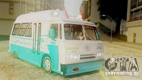 JAC Microbus для GTA San Andreas