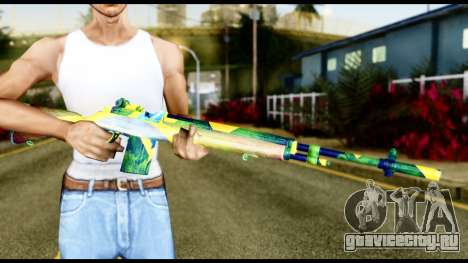 Brasileiro Rifle для GTA San Andreas третий скриншот