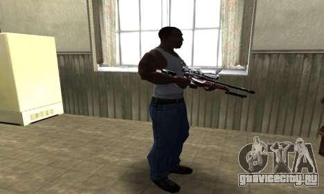 Redl Sniper Rifle для GTA San Andreas третий скриншот