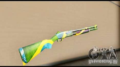 Brasileiro Shotgun для GTA San Andreas второй скриншот