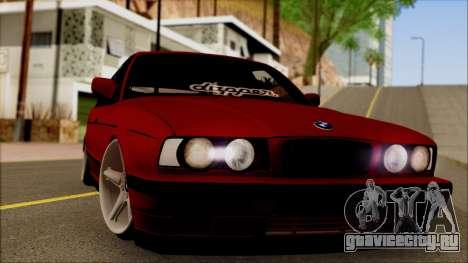 BMW M5 Touring E34 для GTA San Andreas вид сзади слева