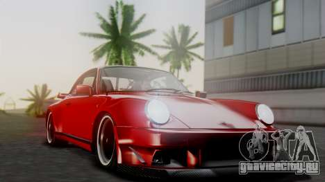 Porsche 911 Turbo (930) 1985 Kit A для GTA San Andreas вид снизу