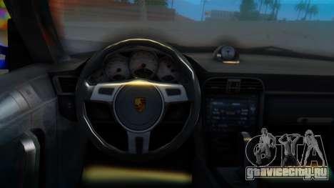 Porsche 911 2010 Cabrio для GTA San Andreas вид справа