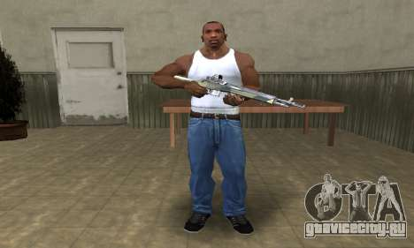 Military Rifle для GTA San Andreas третий скриншот