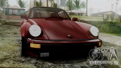 Porsche 911 Turbo (930) 1985 Kit C для GTA San Andreas вид справа