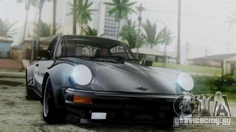 Porsche 911 Turbo (930) 1985 Kit C для GTA San Andreas вид сверху