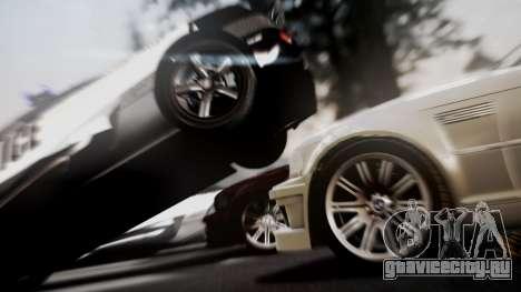 BMW M3 GTR Street Edition для GTA San Andreas вид справа