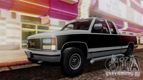 GMC Sierra 2500 Extended Cab 1992 для GTA San Andreas