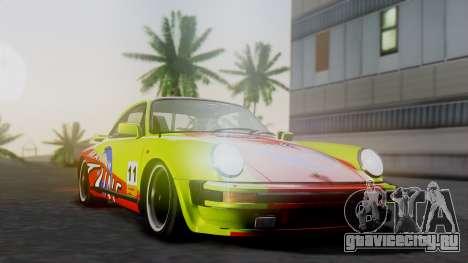 Porsche 911 Turbo (930) 1985 Kit A для GTA San Andreas вид сзади