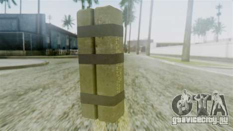 GTA 5 Sticky Bomb для GTA San Andreas второй скриншот