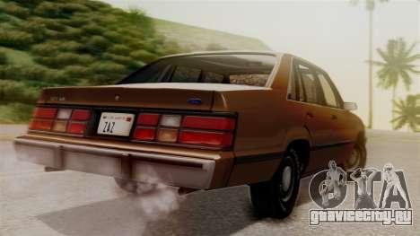 Ford LTD LX 1986 для GTA San Andreas вид слева