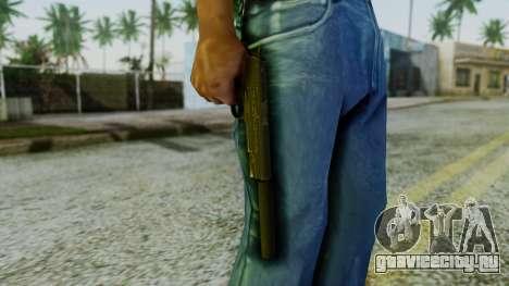 Silenced M1911 Pistol для GTA San Andreas третий скриншот