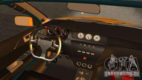 Mitsubishi Lancer Evolution 2015 для GTA San Andreas вид справа