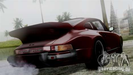 Porsche 911 Turbo (930) 1985 Kit C для GTA San Andreas вид слева