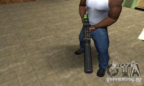 SPAS-12 Green Lines для GTA San Andreas второй скриншот