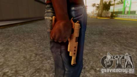 Chrome Hammer Pistol для GTA San Andreas третий скриншот