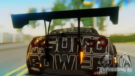 Nissan GT-R GT1 Sumo Tuning для GTA San Andreas вид сзади