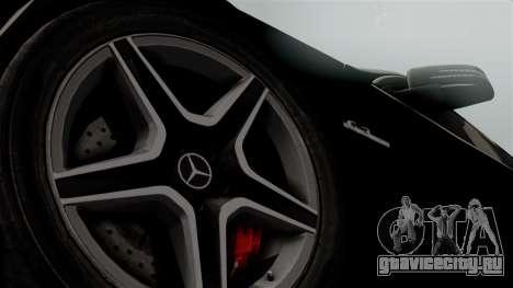 Mercedes-Benz C63 AMG 2015 Edition One для GTA San Andreas вид справа