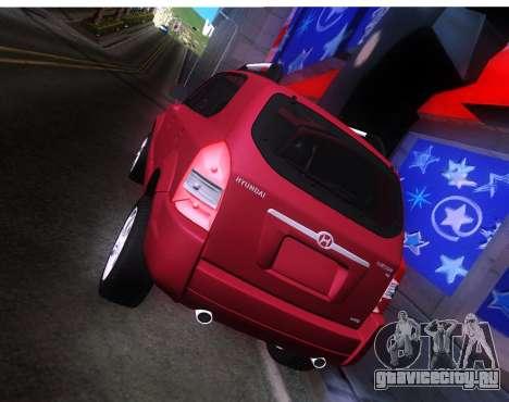 Hyundai Tucson для GTA San Andreas вид справа