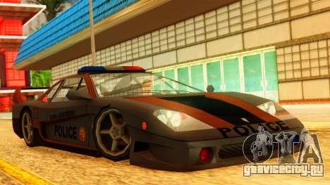 Police Turismo для GTA San Andreas