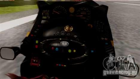 NRG Moto Jet Buzz Dirt Model для GTA San Andreas вид сзади слева