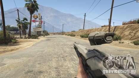 Halo 5 Light Rifle 1.0.0 для GTA 5 седьмой скриншот