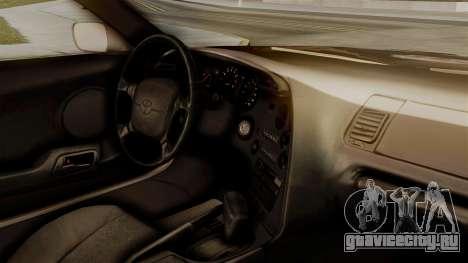 Toyota Supra Full Tuning для GTA San Andreas вид справа